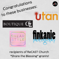 Share the blessing Grant recipients